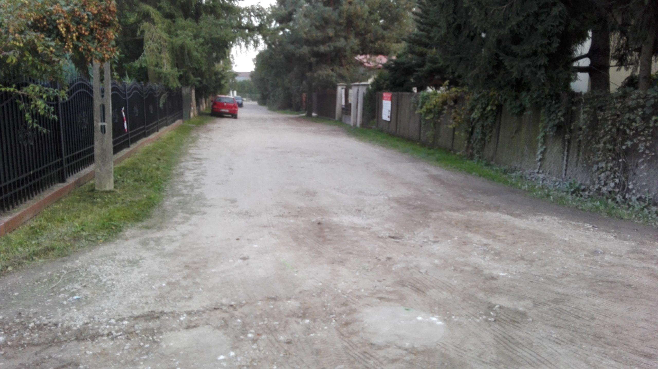 budowa ul. Kmicica