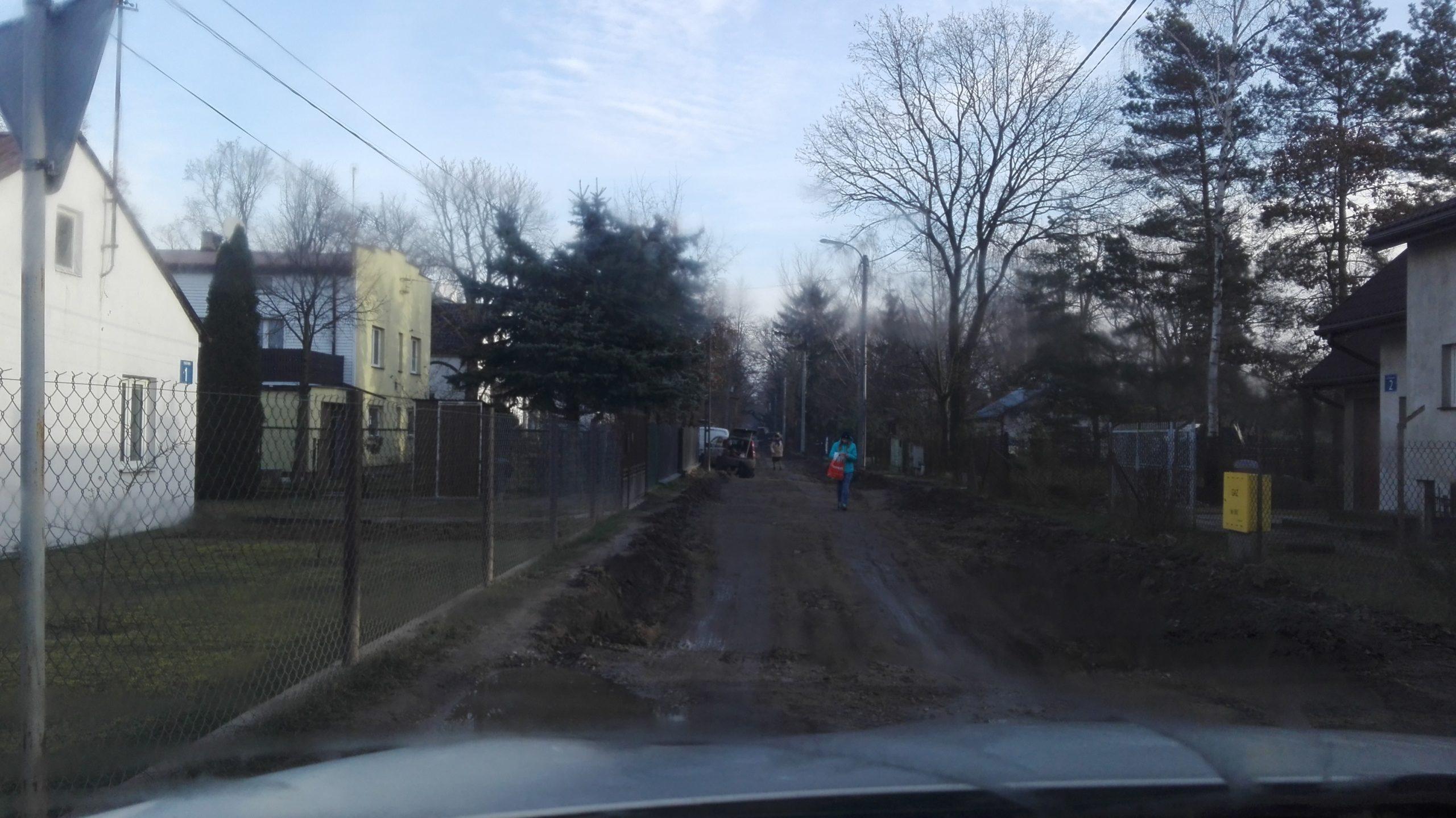 budowa ul. Piaskowej