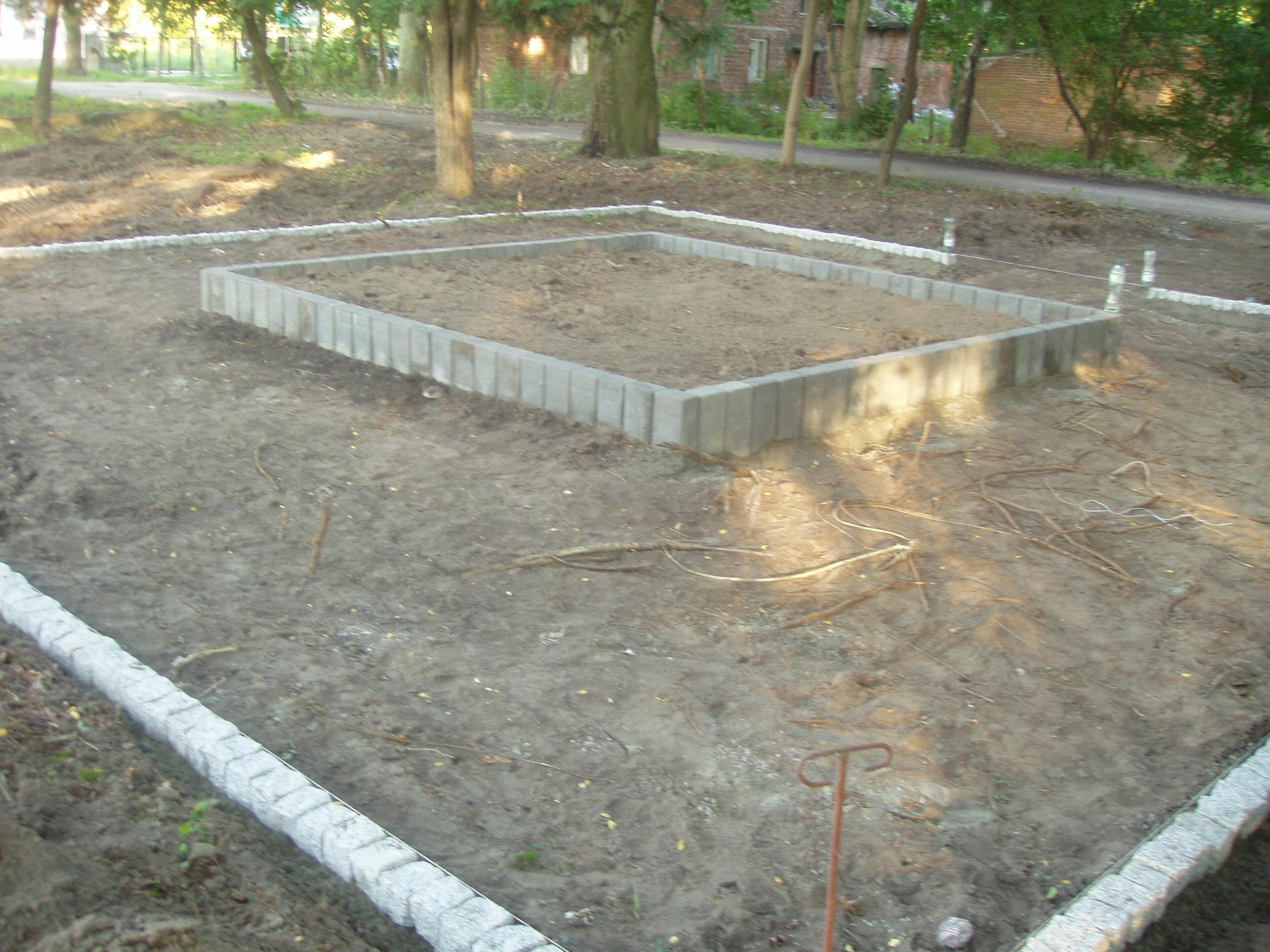 budowa skweru Kordiana