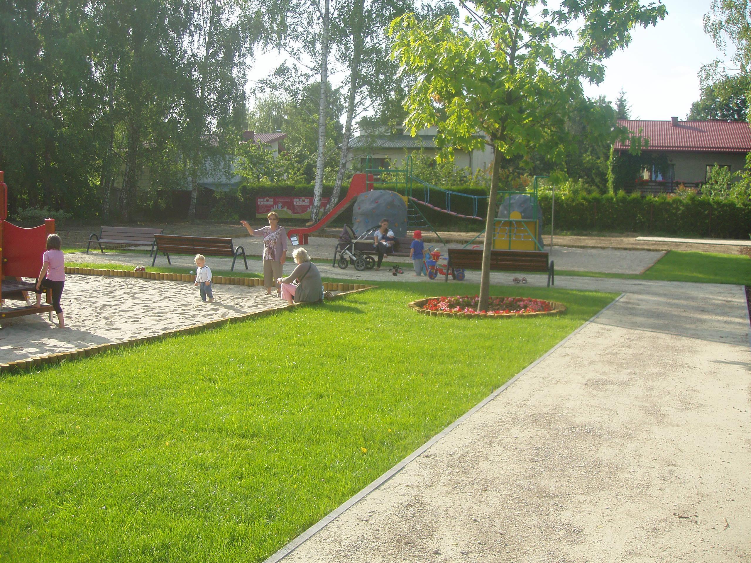 Plac zabaw Kamionka
