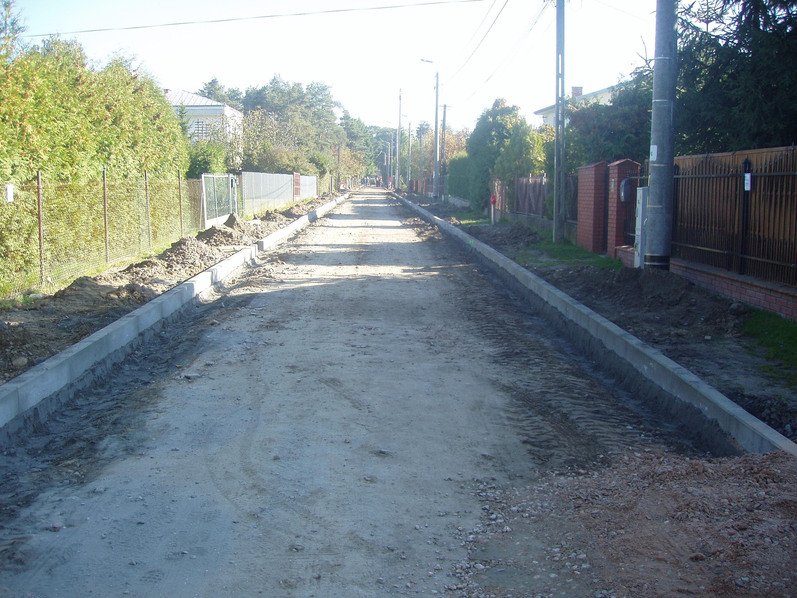 budowa ul. Lechitów