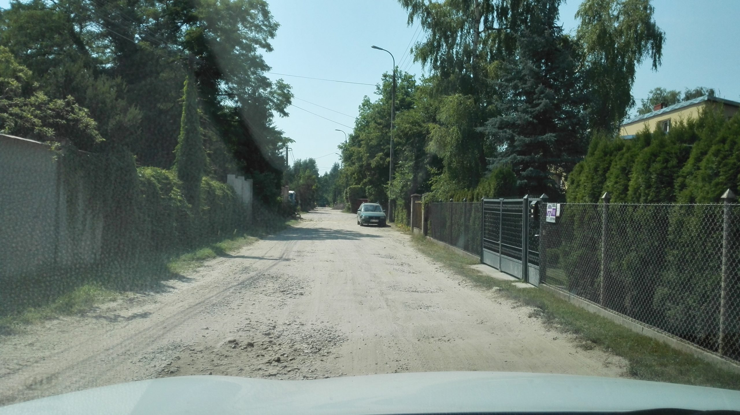 budowa ul. Zielnej